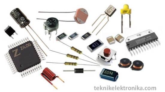 Komponen-komponen Elektronika