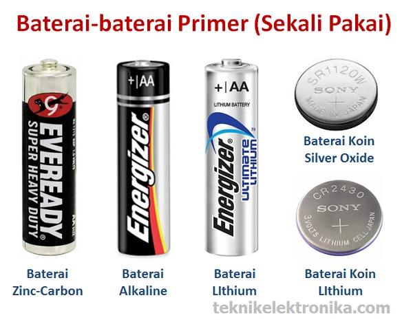 Pengertian Baterai dan Jenis-jenis Baterai