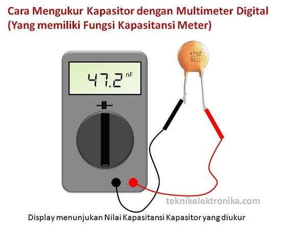 Cara mengukur Kapasitor dengan Multimeter Analog