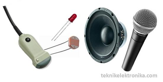 Pengertian Transducer dan Jenis-jenis Transduser