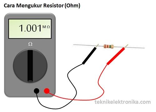 Cara Mengukur Resistor (OHM)
