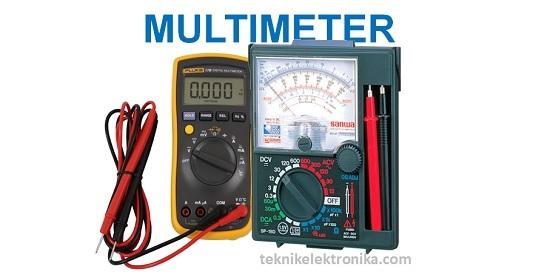 Cara Menggunakan Multimeter Digital dan Multimeter Analog