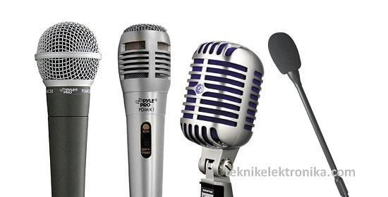 Pengertian Microphone (Mikrofon) dan cara kerjanya