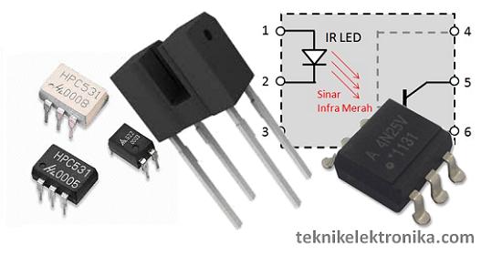 Pengertian Optocoupler dan Prinsip kerja Optocoupler