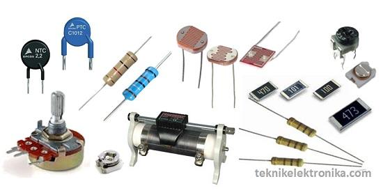 Pengertian Resistor dan Jenis-jenisnya