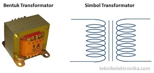 Pengertian transformator (bentuk dan simbol trafo)