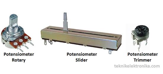 Jenis-jenis Potensiometer