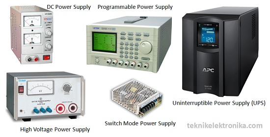 Pengertian Power Supply dan Jenis-jenis Power Supply