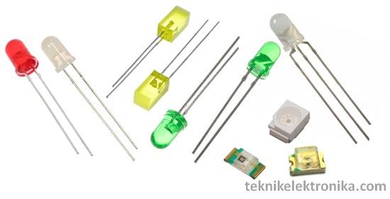 Pengertian LED dan Cara Kerja LED