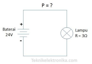 Rumus dan cara menghitung daya listrik