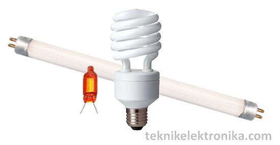Lampu Lucutan Gas (Gas-discharge Lamp)