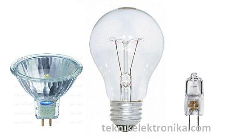 Lampu Pijar (Incandescent lamp)