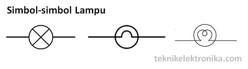 Simbol-simbol Lampu Listrik