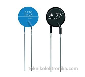 Thermistor PTC dan NTC