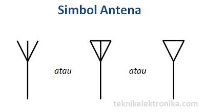 Simbol Antena dalam Rangkaian Elektronika