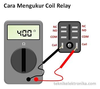 Cara Mengukur Koil Relay dengan Multimeter