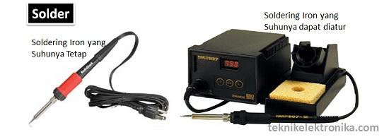 Alat Solder Peralatan Elektronika
