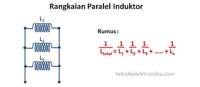 Rangkaian Seri dan Paralel Induktor