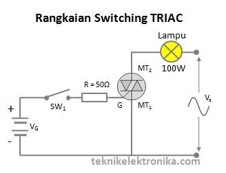 Rangkaian Switching TRIAC