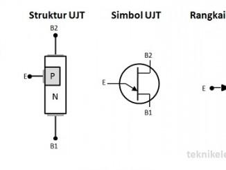 Pengertian Uni Junction Transistor (UJT) dan cara Kerja UJT