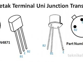 Cara Mengukur Uni Junction Transistor
