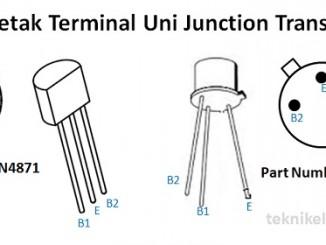 Cara Mengukur Uni Junction Transistor