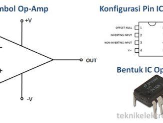 Pengertian Op-Amp (Operational Amplifier) dan Karakteristiknya