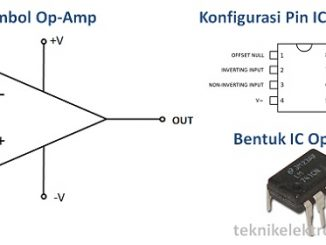 Pengertian Op-Amp (Operational Amplifier) dan Karakteristiknya