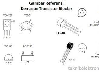 Cara Menentukan Jenis Transistor NPN dan PNP dengan menggunakan Digital Multimeter