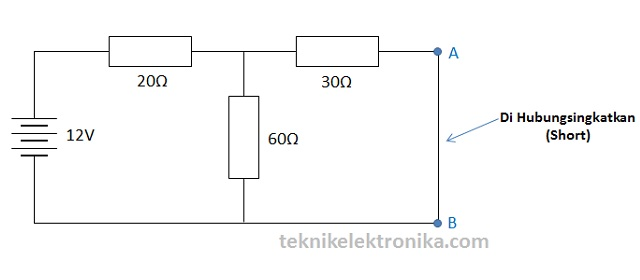 Langkah 1 Perhitungan Teorema Norton
