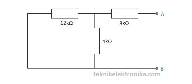 Langkah 3 Perhitungan Teorema Thevenin
