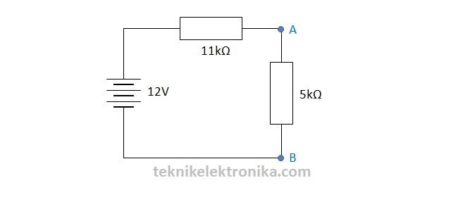 Langkah 5 Perhitungan Teorema Thevenin