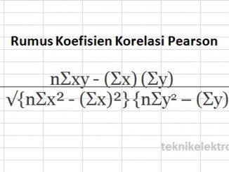 Menghitung Koefisien Korelasi dengan Menggunakan Microsoft Excel