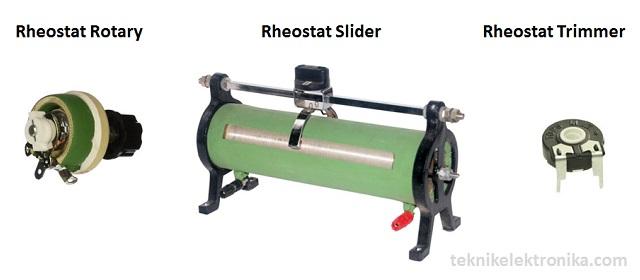 Pengertian Rheostat dan Jenis-jenis Rheostat