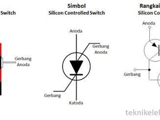 Pengertian Silicon Controlled Switch (SCS) Simbol Struktur dan rangkaian ekivalen