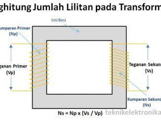 Cara Menghitung Jumlah Lilitan pada Trafo (Transformator)