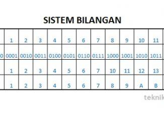 Sistem Bilangan pada Elektronika Digital