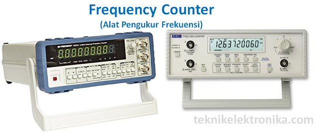 Frequency Counter (Alat Pengukur Frekuensi)