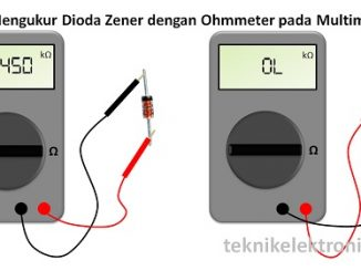 Cara Mengukur Dioda Zener / Menguji Dioda Zener dengan Multimeter