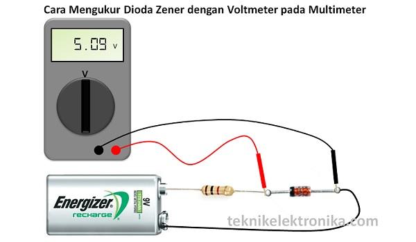 Cara Mengukur Dioda Zener dengan Voltmeter
