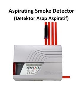 Aspirating smoke detector