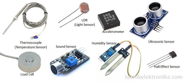 Pengertian Sensor dan Jenis-jenis Sensor